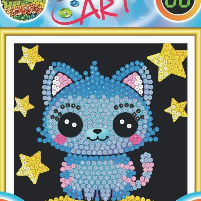 Adorable Kitten craft activity for children