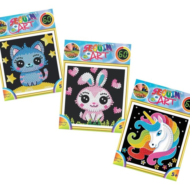 Sequin Art bundle of kids craft kits