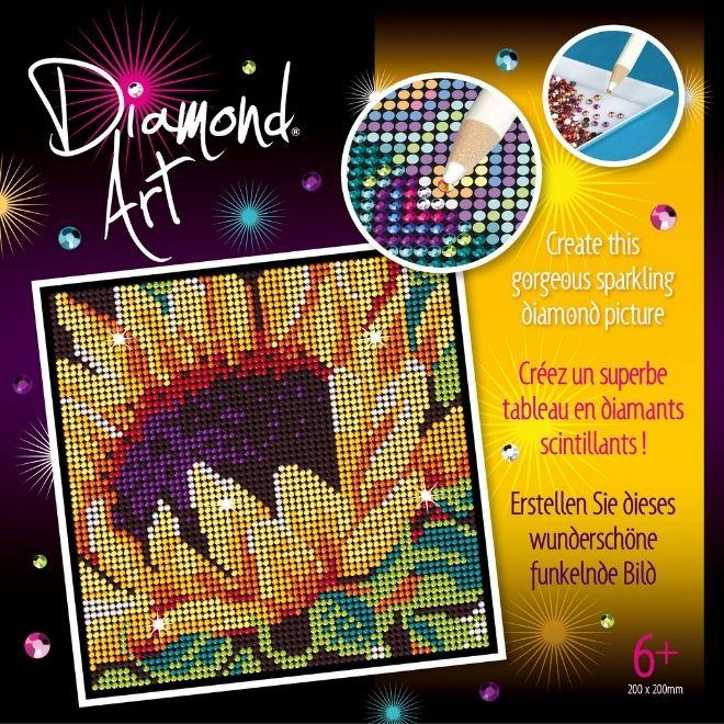 Diamond Art sunflower craft kit