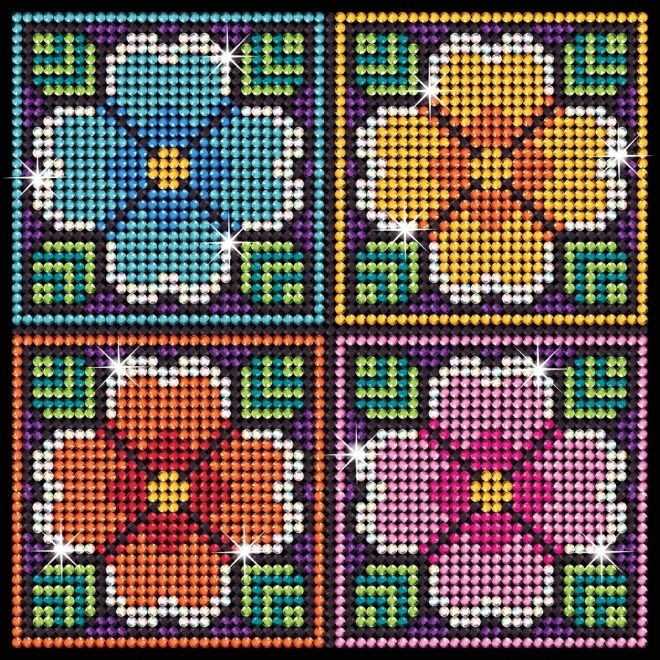 Create a Diamond Art Flowers picture