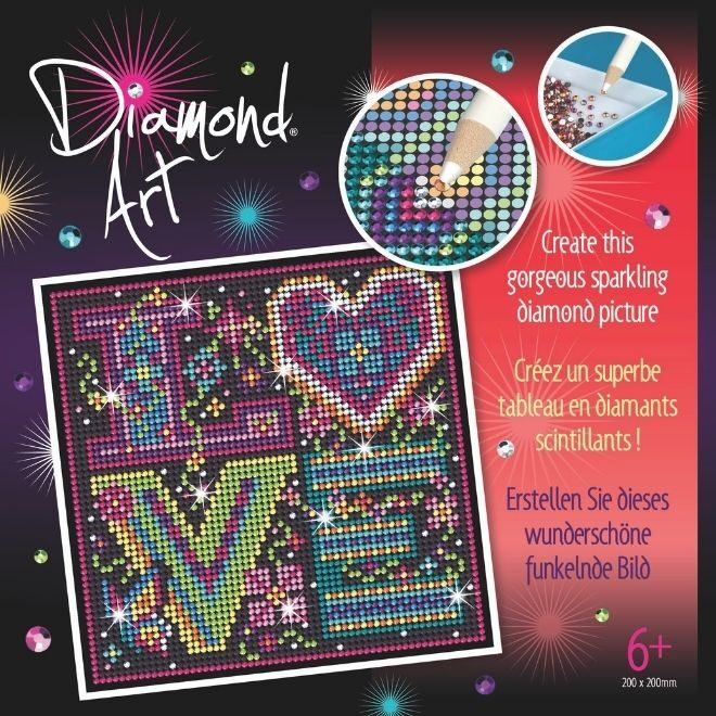 Diamond Art LOVE project