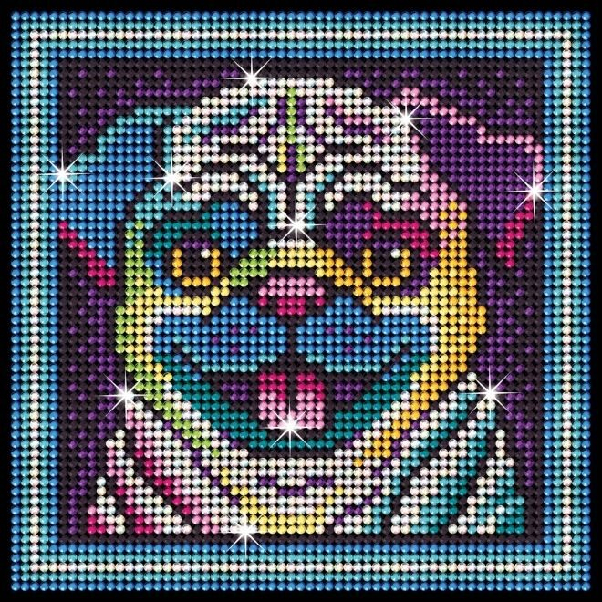 Diamond Art Pug project