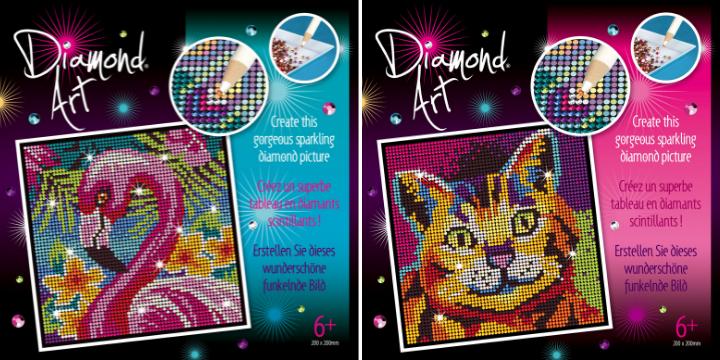 Diamond Art craft projects