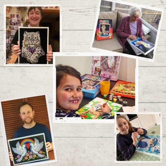 Sequin Art Customer Photos & Prize Draw
